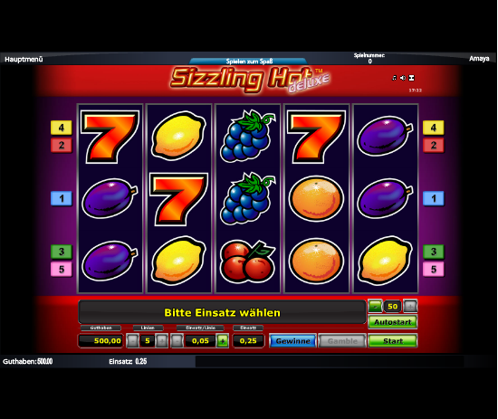 online casino ohne download sizzling hot spielen